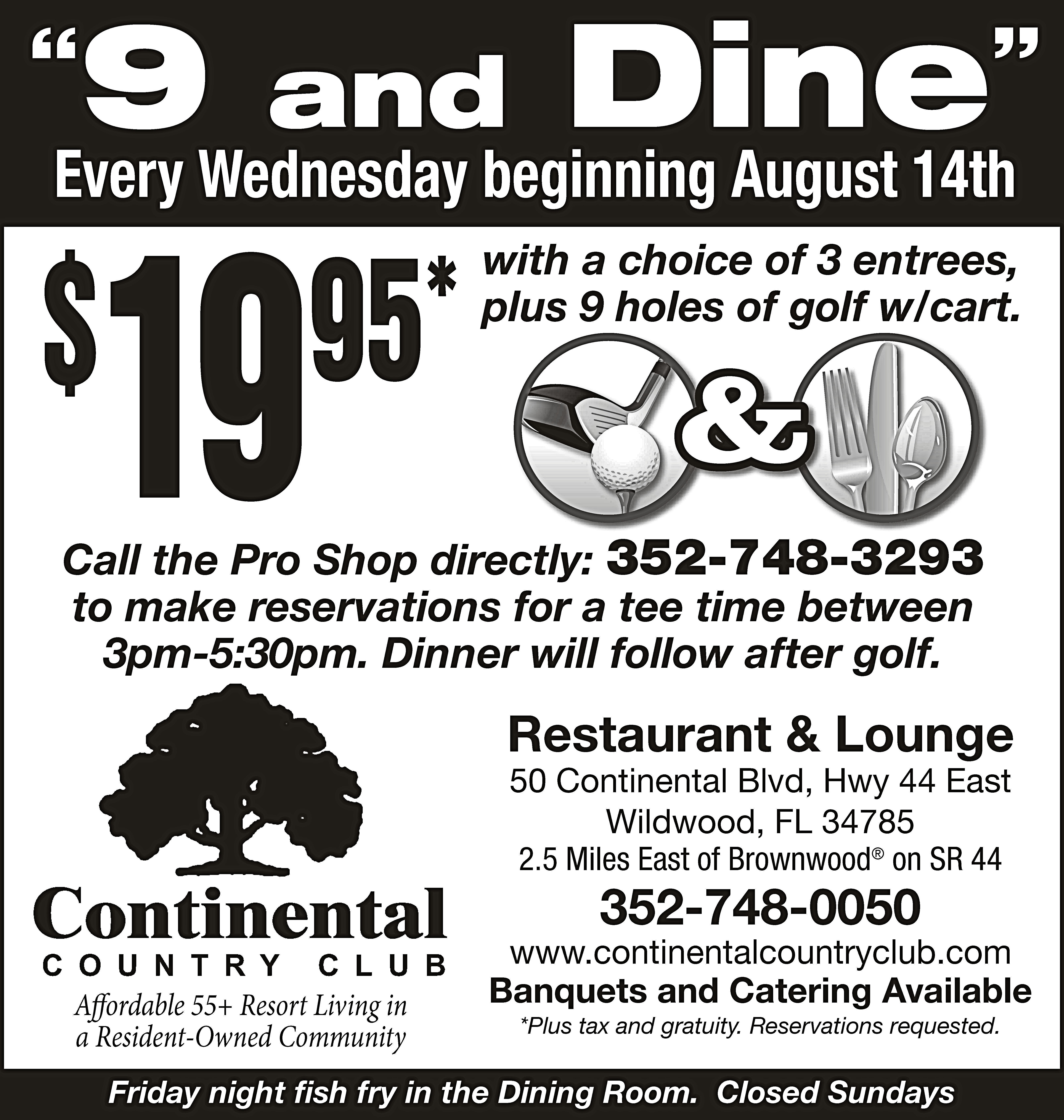 Home - Continental Country Club FL